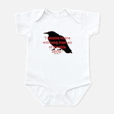 POE QUOTE Infant Bodysuit