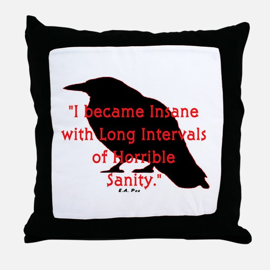 POE QUOTE Throw Pillow