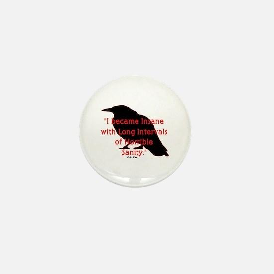 POE QUOTE Mini Button