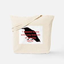 POE QUOTE Tote Bag