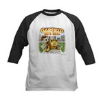 Garfield Gets Real Kids Baseball Jersey