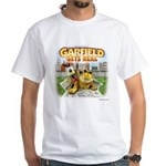 Garfield Gets Real White T-Shirt