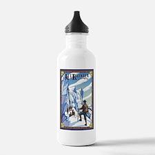 Mt Rainier, Washington - Ice Climbers Water Bottle