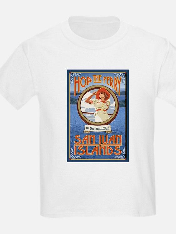San Juans - Hop the Ferry T-Shirt