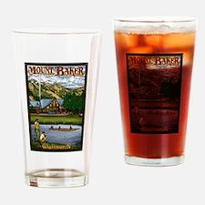 Mount Baker, Washington Drinking Glass