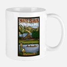 Mount Baker, Washington Mugs