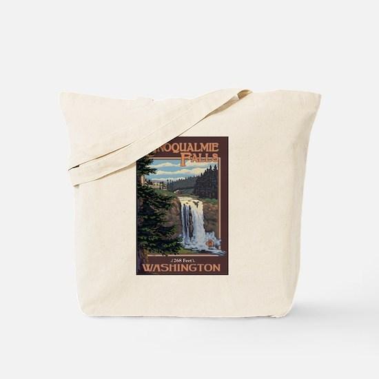 Snoqualmie Falls, Washington Tote Bag