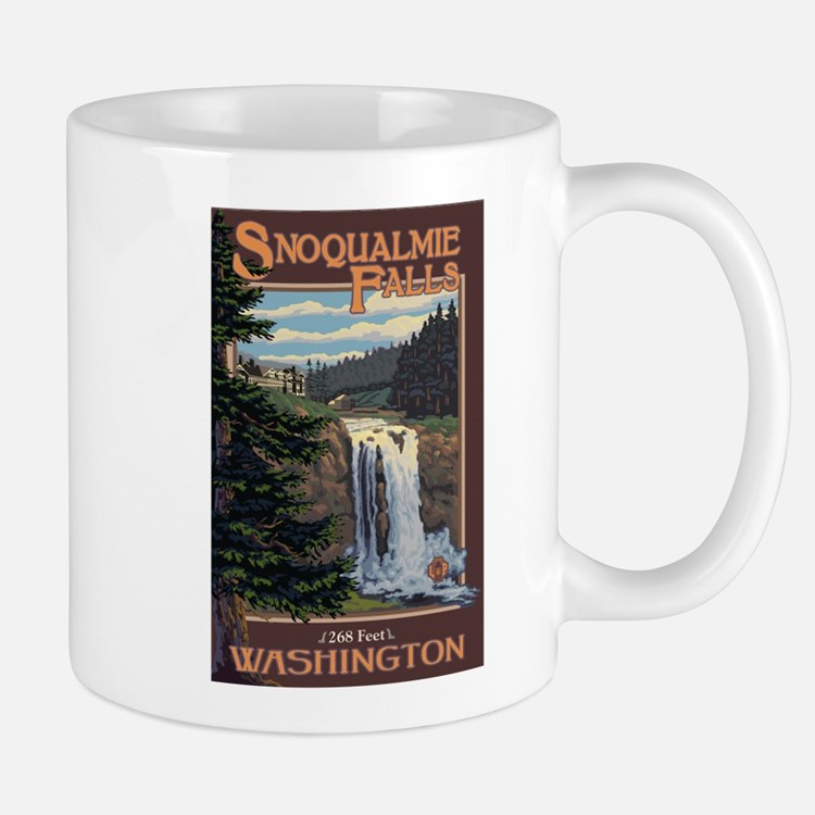 Snoqualmie Falls, Washington Mugs