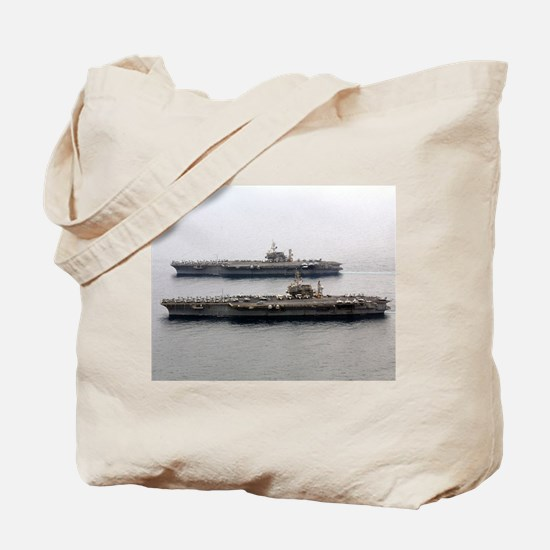Kitty Hawk & Constellation Tote Bag US Navy gift