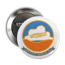 USS Kitty Hawk USN Crest Button Navy gift