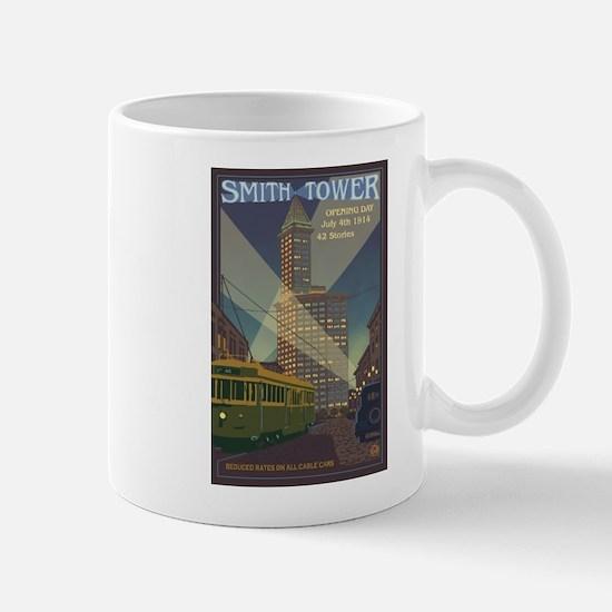Seattle, Washington - Smith Tower Mugs