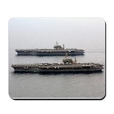 Kitty Hawk & Constellation Mousepad Navy gift