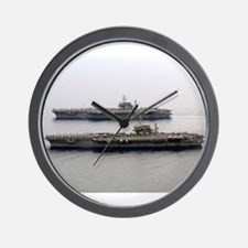 Kitty Hawk & Constellation Wall Clock Navy gift