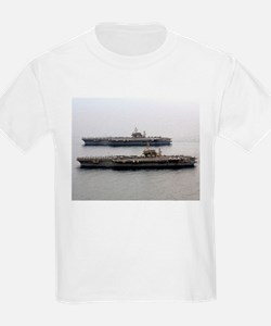 Kitty Hawk & Constellation Kids T-Shirt