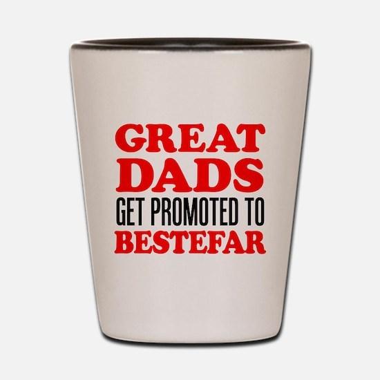Promoted To Bestefar Drinkware Shot Glass