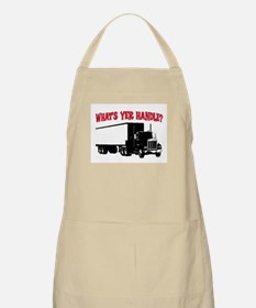 WHAT'S YER HANDLE?? BBQ Apron