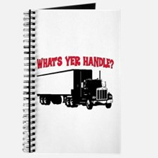 WHAT'S YER HANDLE?? Journal