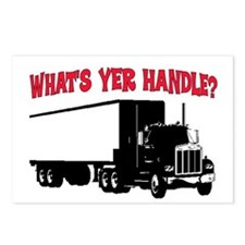 WHAT'S YER HANDLE?? Postcards (Package of 8)
