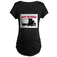 WHAT'S YER HANDLE?? T-Shirt