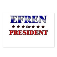 EFREN for president Postcards (Package of 8)