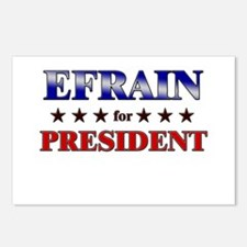 EFRAIN for president Postcards (Package of 8)