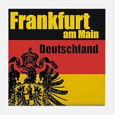 Frankfurt am Main Tile Coaster