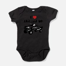 Cute Chevy trucks Baby Bodysuit