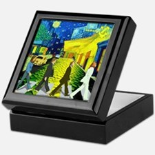 Fab4 Van Gogh Road Keepsake Box