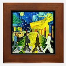 Fab4 Van Gogh Road Framed Tile