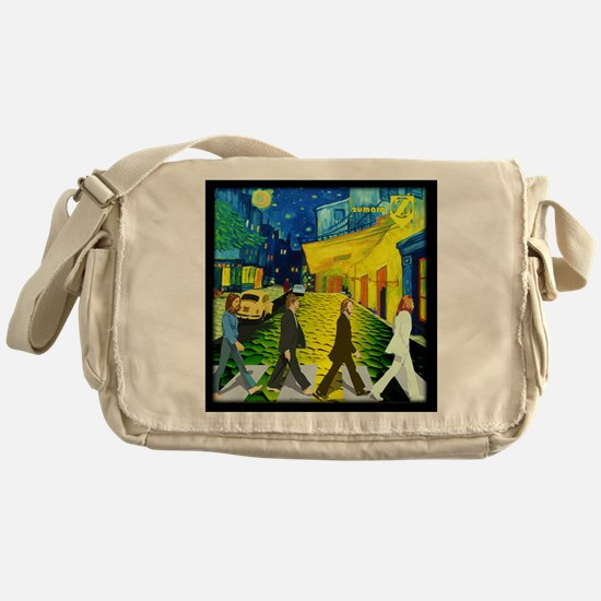 Fab4 Van Gogh Road Messenger Bag