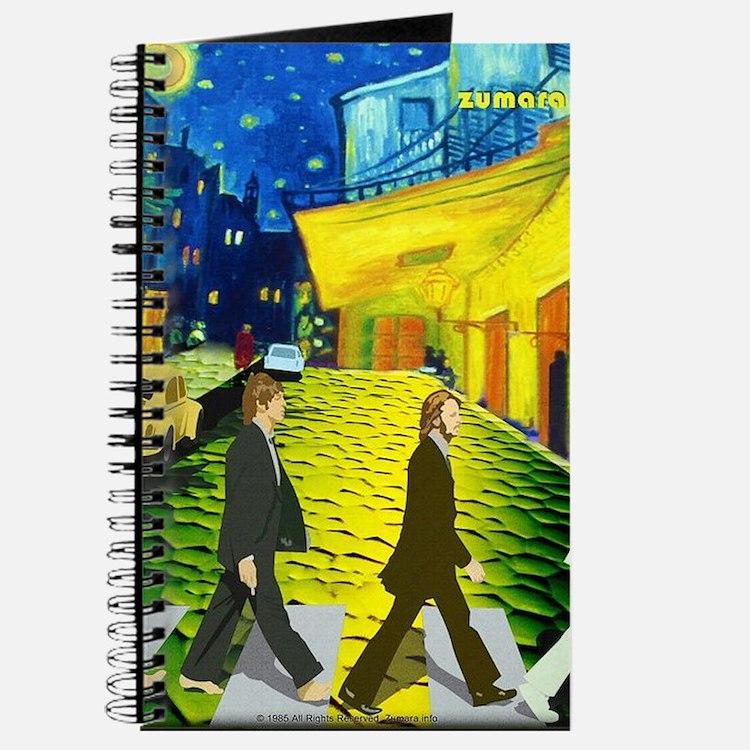 Fab4 Van Gogh Road Journal