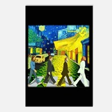 Fab4 Van Gogh Road Postcards (Package of 8)