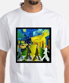 Fab4 Van Gogh Road Shirt