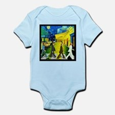 Fab4 Van Gogh Road Infant Bodysuit