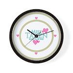 Miss Taken Wall Clock
