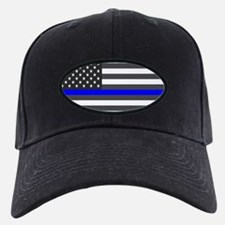 US Flag Blue Line Baseball Hat