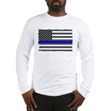 Blue lives matter 2c Long Sleeve T-shirts