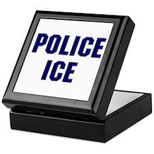 Police ICE Keepsake Box
