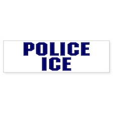 Police ICE Bumper Bumper Sticker