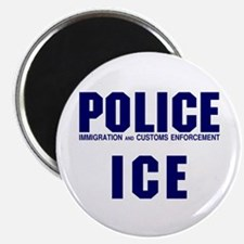 POLICE ICE Magnet