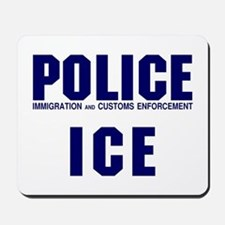POLICE ICE Mousepad