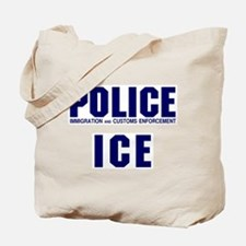 POLICE ICE Tote Bag