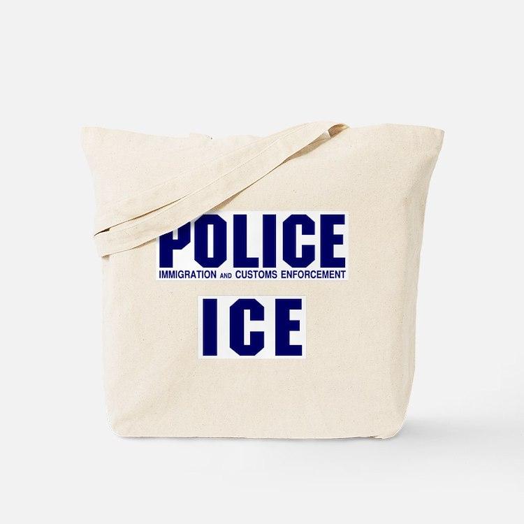 POLICE ICE Tote Bag