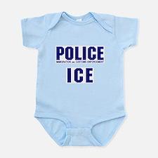 POLICE ICE Onesie
