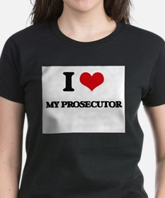 I Love My Prosecutor T-Shirt
