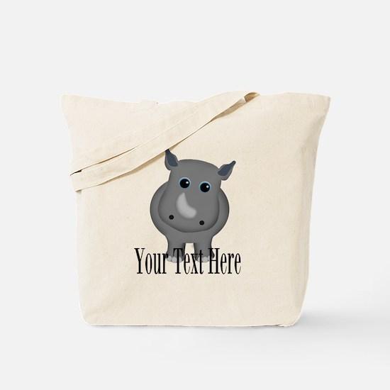 Rhino Baby Tote Bag