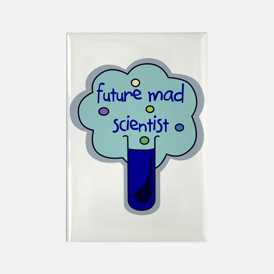 Future Mad Scientist Rectangle Magnet
