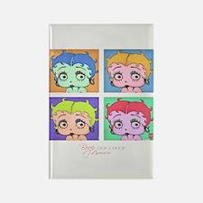 Betty Boop Pop Art Rectangle Magnet