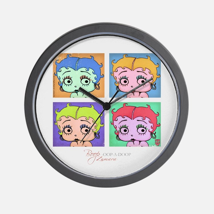 Betty Boop Pop Art Wall Clock