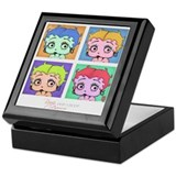 Betty boop Square Keepsake Boxes